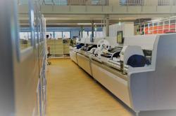 Bestückungsautomat der mk-messtechnik GmbH im Neubau