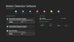 Motion Detection Software der mk-messtechnik GmbH